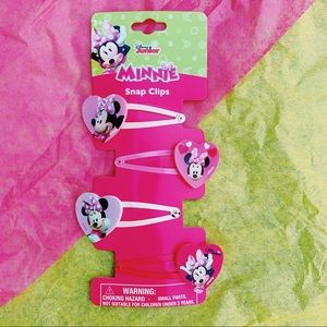 minnie mouse snap clips💗💗💗